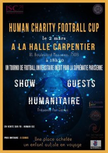 Affiche Human charity football cup