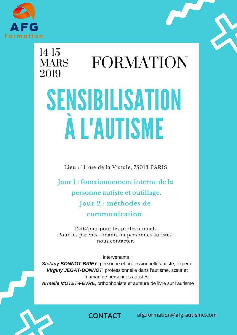 Affiche sensibilisation 14-15 mars
